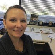 Michelle at TTI Texas